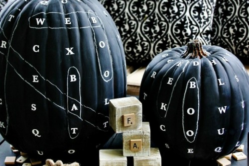 , Creative No-Carve Pumpkin Ideas