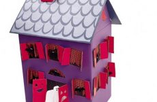 , Mini Haunted Houses Made out of Cardboard