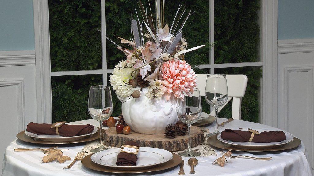 , Easy, Elegant DIY Thanksgiving Centrepiece