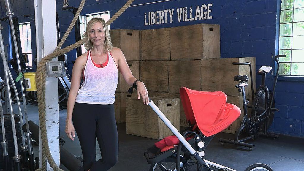 , Stroller Exercises for New Moms