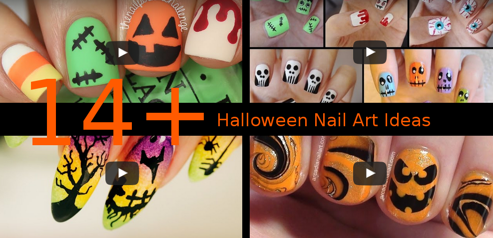 , Video Tutorials: Nail Art Ideas for Halloween