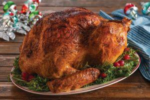 , Cajun Spice Roast Turkey