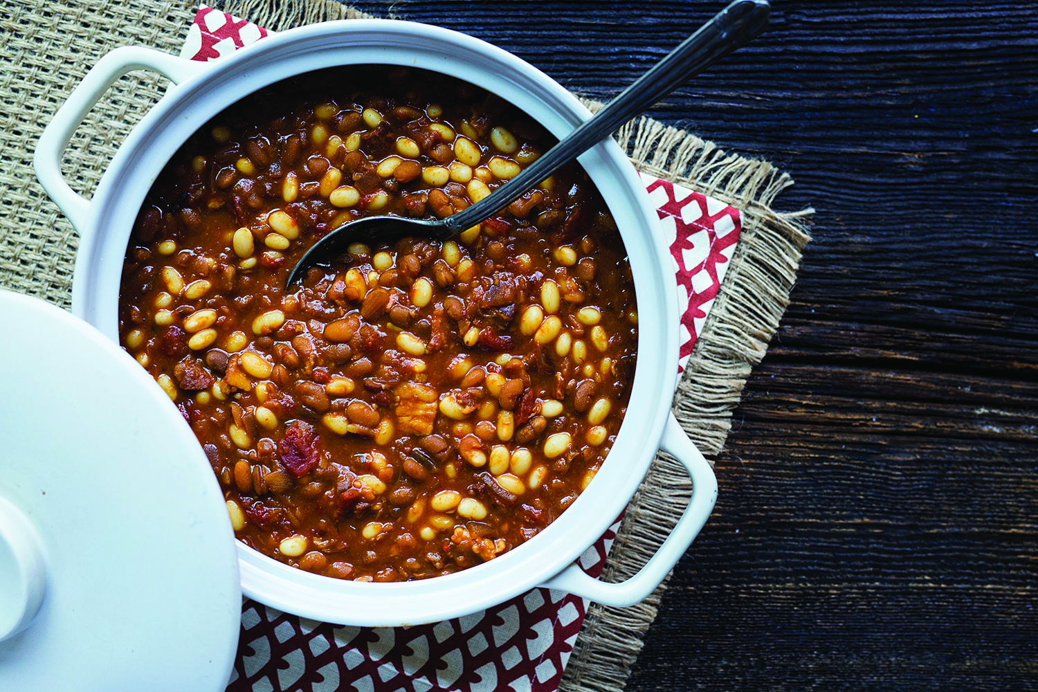 , Comfy Slow-Cooker Baked Beans