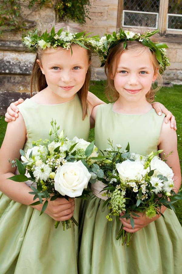 , Wedding Color Ideas Inspired by the Color Green