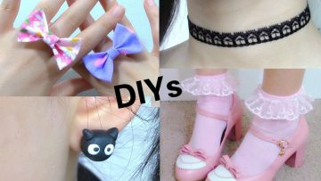 Video Tutorials: DIY Accessories for Back to School