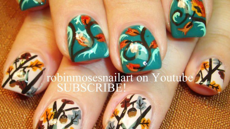 Video Tutorials: Nail Art for Fall