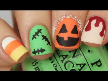 Video Tutorials: Nail Art Ideas for Halloween