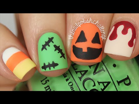 Video Tutorials: Nail Art Ideas for Halloween