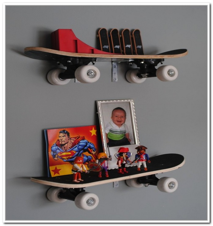 Skateboard Shelves