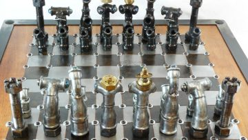 Diy-Recycled-Chess