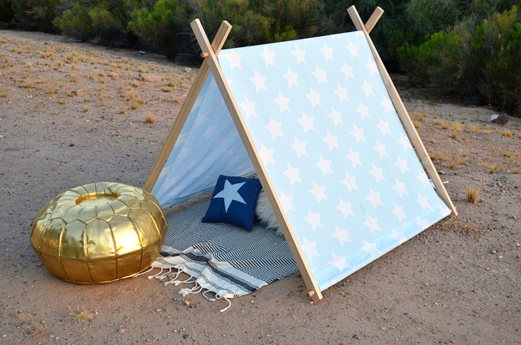, Easy DIY Teepees and Play Tents to Make at Home