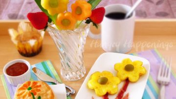 Flowery Mother's Day Breakfast