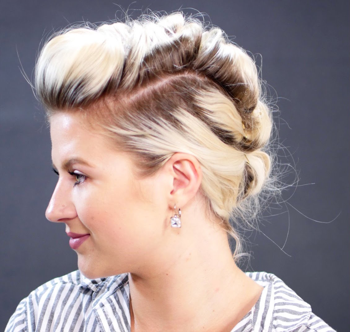, Creative Ways to Dress Up Short Hair