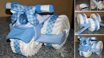 Baby Diaper Tricycle