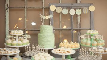 Diy Greens and Yellows Party Decor