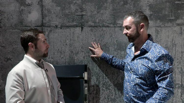 M&M_S08E11_Nicholas Rosaci_Resource Furniture_Faux Concrete Walls
