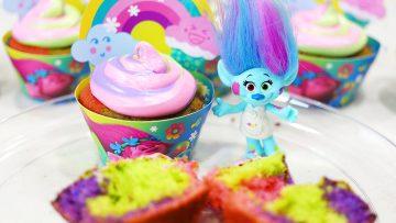 Trolls-Tie-Dye-Cupcakes