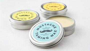 2 Ingredient Mustache Wax
