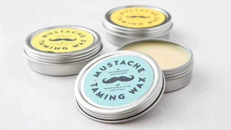 2 Ingredient Mustache Wax