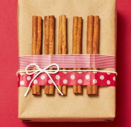 Cinnamon accents