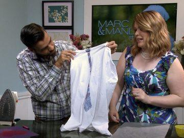 M&M_S11E13_Marc & Mandy_Iron-On T-Shirt DIY
