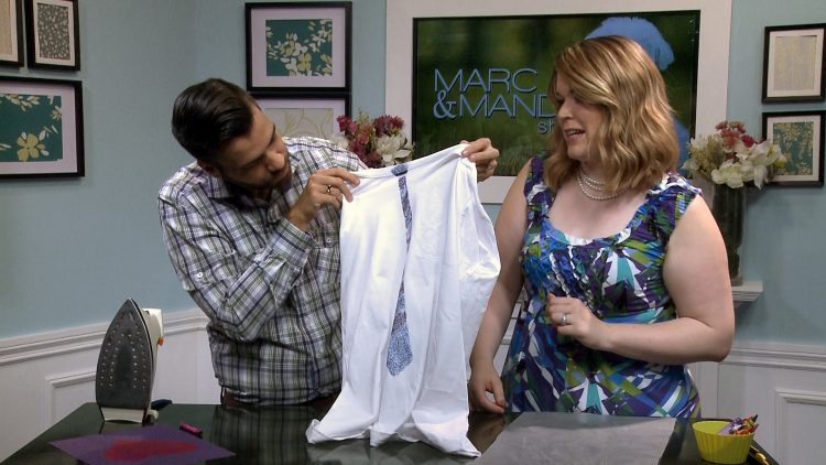 M&M_S11E13_Marc & Mandy_Iron-On T-Shirt DIY