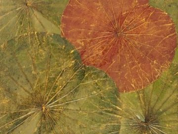 Green-Red-Canvas-Lotus-Art-48cm-x-48cm1-500×500