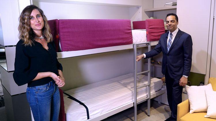M&M_S13E08_Sarah-Marie Lackey & David Hooper_Resource Furniture_Maximizing Space in a Kid's Room