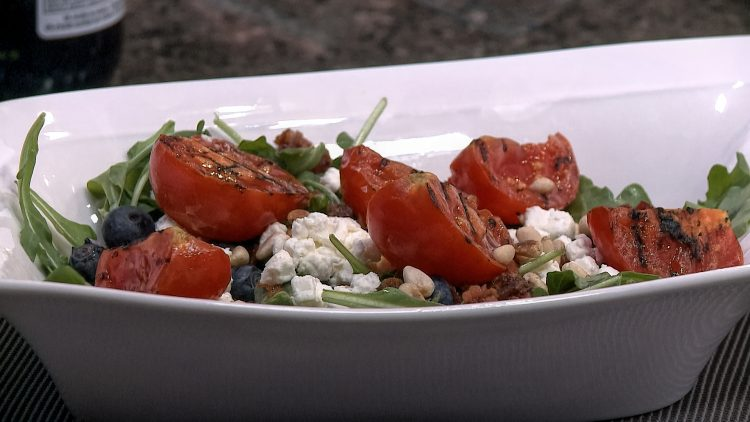 M&M_S14E06_Chef Rob Thomas_Grilled Tomato Salad