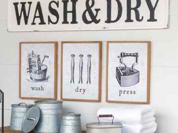 embossed-metal-wash-and-dry-sign