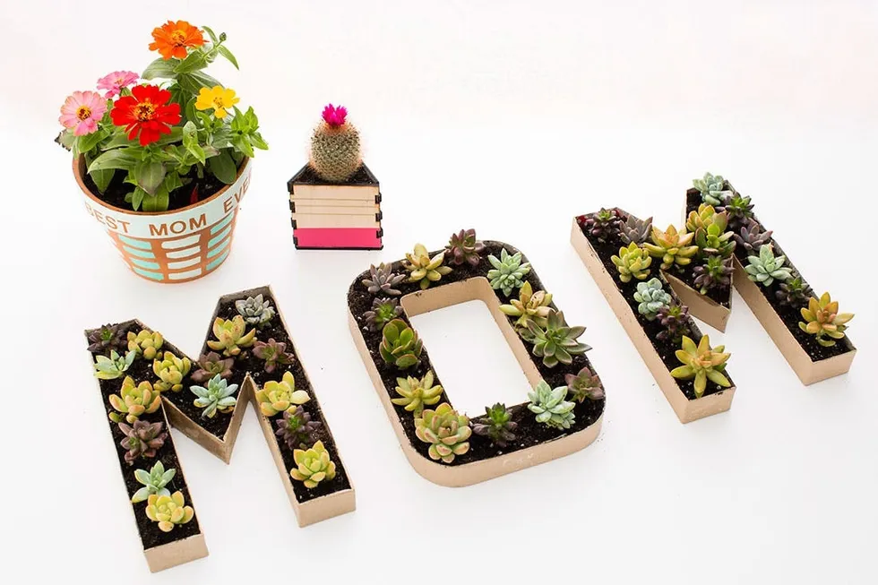 DIY MOM Planter