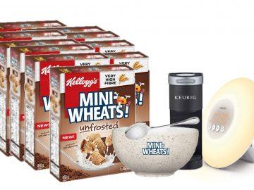 Mini wheats copromo