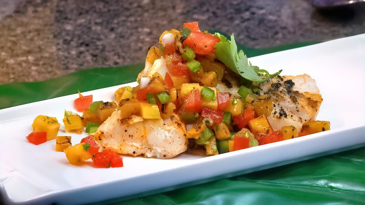 M&M_S21E04_Rob Thomas_Grilled Pineapple Pico De Gallo