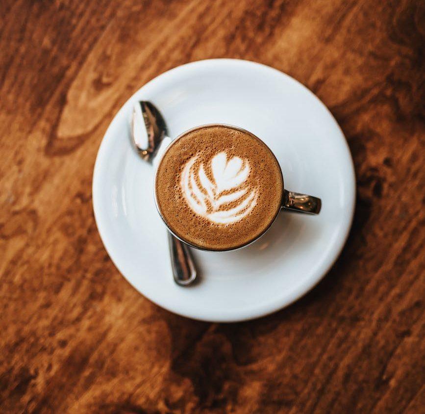 espresso – with foam art