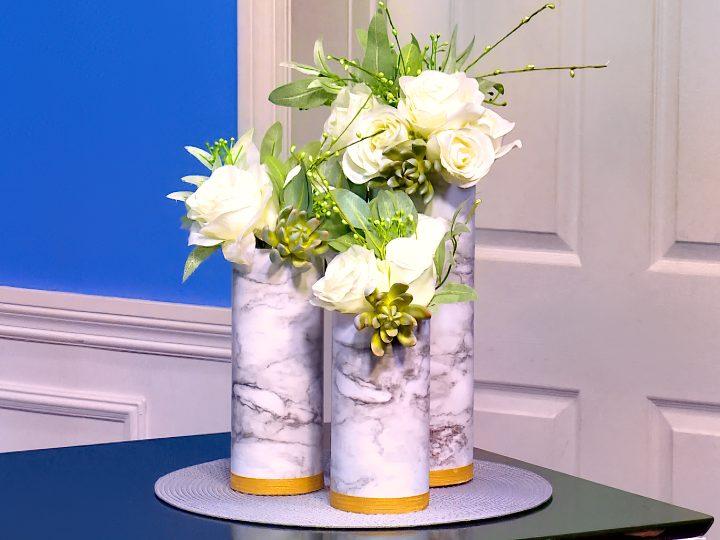 M&M_S25E08_Crafty Ideas_DIY Marble Vase 1
